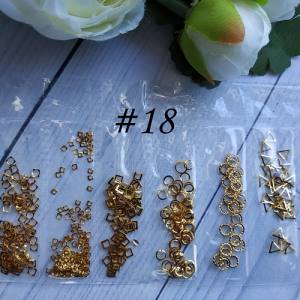 Металлический декор для ногтей в упаковке Barbie Nails №18