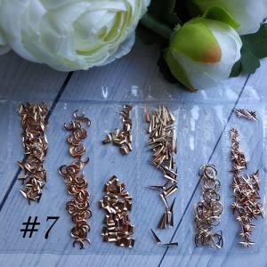 Металлический декор для ногтей в упаковке Barbie Nails №7