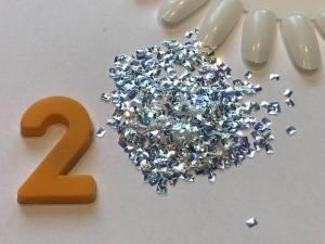 Декор для дизайна в баночке Brilliant Crystal №2