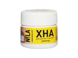 Хна для бровей и био-тату Nila шоколад 10г