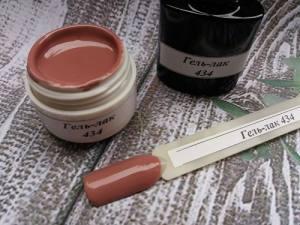 Гель-лак на розлив 5г №434 молочный шоколад