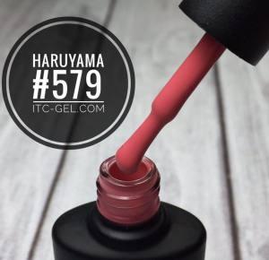 Гель-лак Haruyama Классика №579, розовый, 8 мл