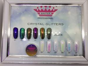 Втирка crystal glitters powder Master №483