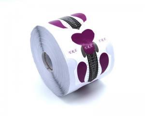 Форма для наращивания ногтей стилет фиолетовая FS-02