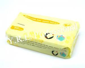 Салфетки косметологические в пакете Yre 20,5х18,5см 80шт