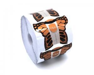 Форма для наращивания ногтей бабочка золото FB-00