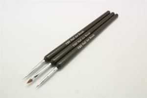 Набор кистей для рисования YRE (3 шт. чёрн. ручка) NK-19
