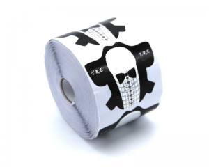 Форма для наращивания ногтей стилет смокинг FS-01