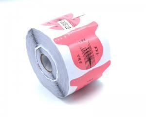 Форма для наращивания ногтей стилет розовая FS-03