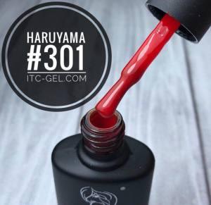 Гель-лак Haruyama Классика №301, алый, 8 мл