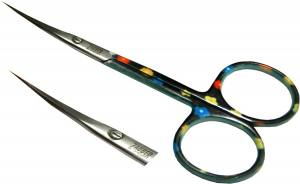 Ножницы для кутикул Zauber цветные 01-131C