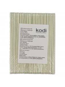 Набор пилок для ногтей Kodi 120/120, цвет: зеленый (50шт/уп)