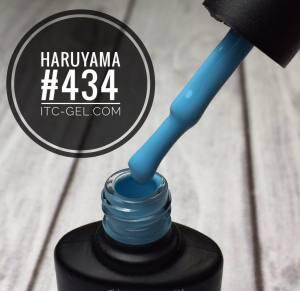 Гель-лак Haruyama Классика №434, голубой, 8 мл