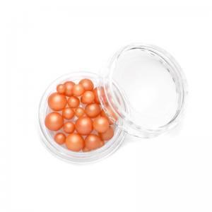 TNL, Жемчуг mix №07 - оранжевый