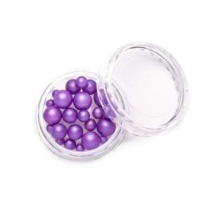 TNL, Жемчуг mix №09 - фиолетовый
