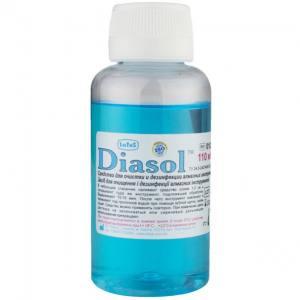Diasol - средство для дезинфекции и очистки фрез и алмазного инструмента, 110 мл